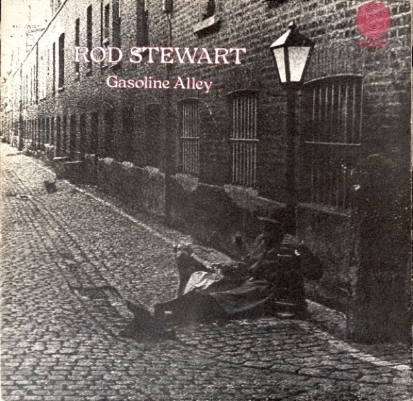Rod Stewart - Gasoline Alley (uk Swirl)