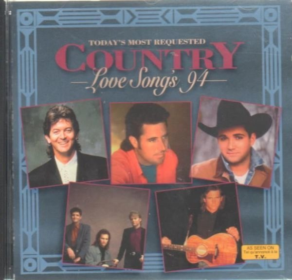 Rodney Crowell, Tanya Tucker, Billy Dean, u.a Country Love Songs'94