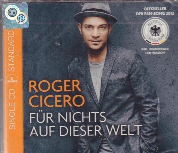 ROGER CICERO - Für Nichts Auf Dieser Welt (STILL SEALED) - CD single