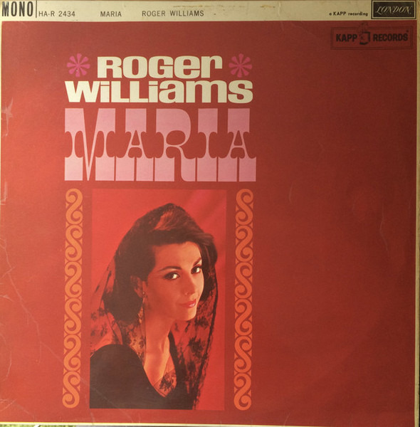 ROGER WILLIAMS - Maria - 33T