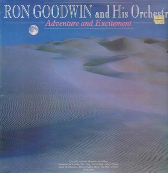 Ron Goodwin and his orchestra Adventure and excitement