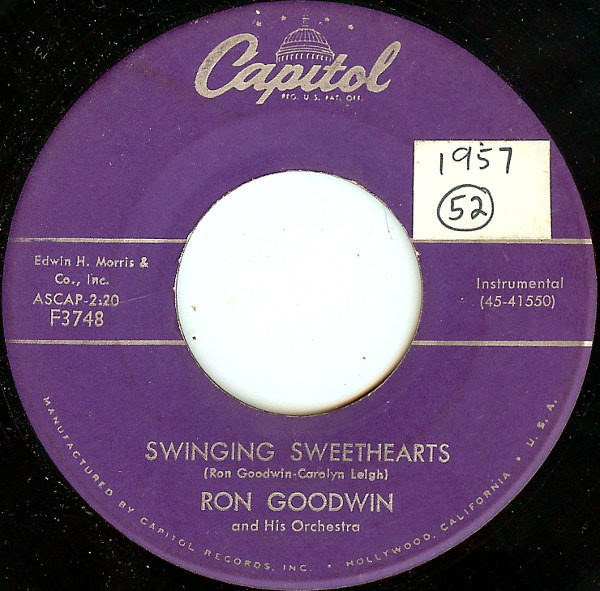 Ron Goodwin And His Orchestra Swinging Sweethearts