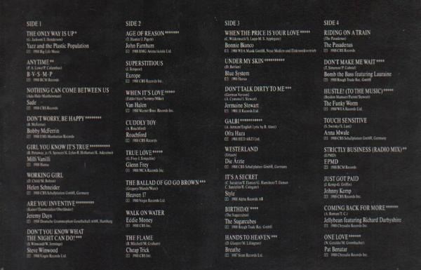 Sade, Milli Vanilli, Steve Winwood, Heaven 17 a.o. 32 Monster Hits