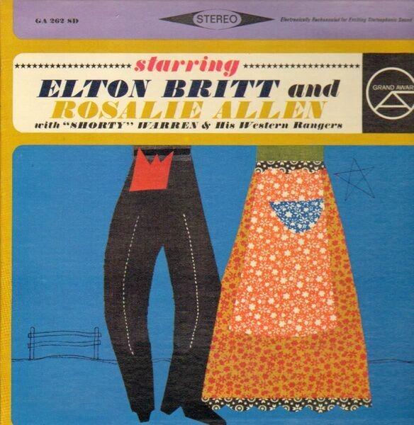 #<Artist:0x00007f651d416778> - Elton Britt & Rosalie Allen