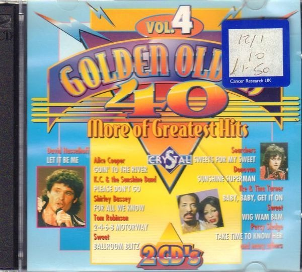 Roy orbison / Donovan / Jimi Hendrix a.o. 40 Golden Oldies Vol. 4