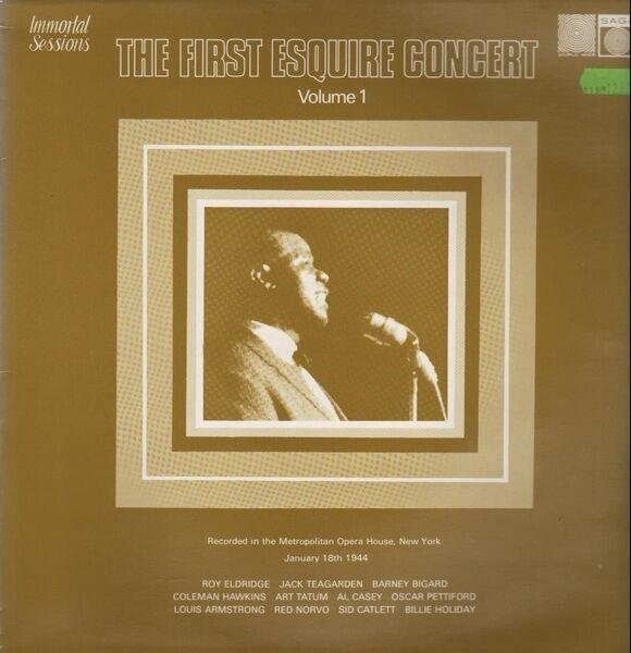 #<Artist:0x007f27822787a0> - The First Esquire Concert Vol. 1