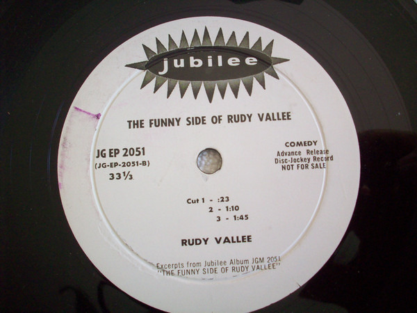 #<Artist:0x007f275b15a840> - The Funny Side of Rudy Vallee