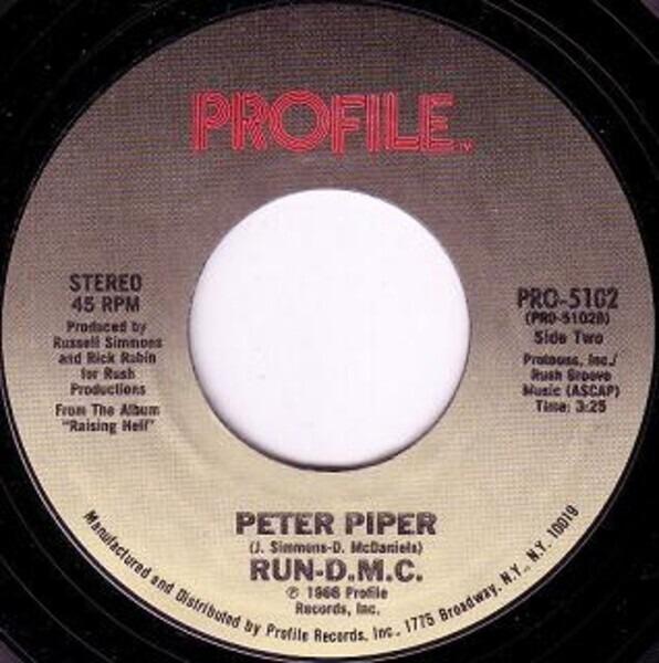 #<Artist:0x00007ffb056e9d28> - My Adidas / Peter Piper