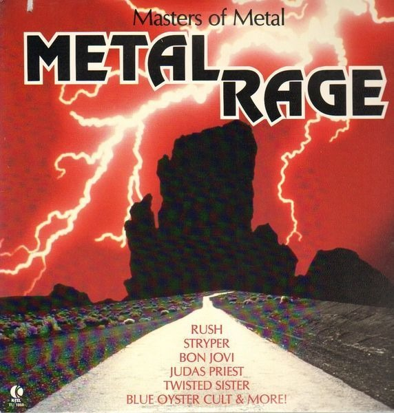 #<Artist:0x007f6ad3b75788> - Masters Of Metal - Metal Rage