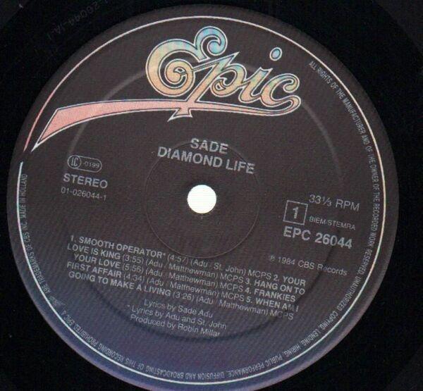 Sade Diamond Life (FOC)