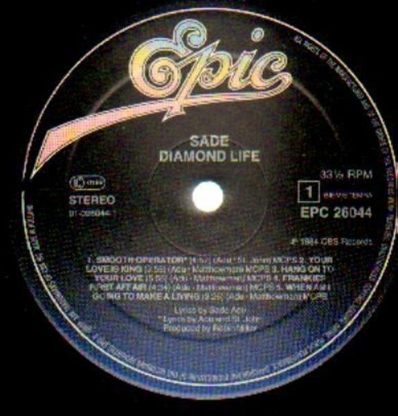 Sade Diamond Life (GATEFOLD SLEEVE)