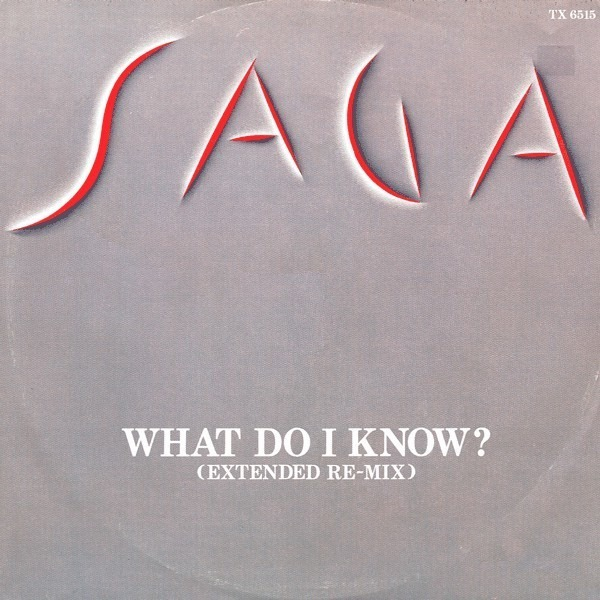 SAGA - What Do I Know? - 12 inch x 1