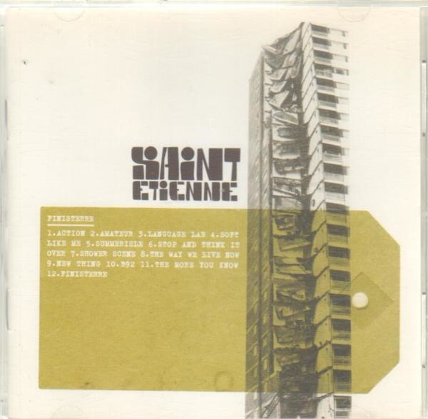 SAINT ETIENNE - Finisterre - CD