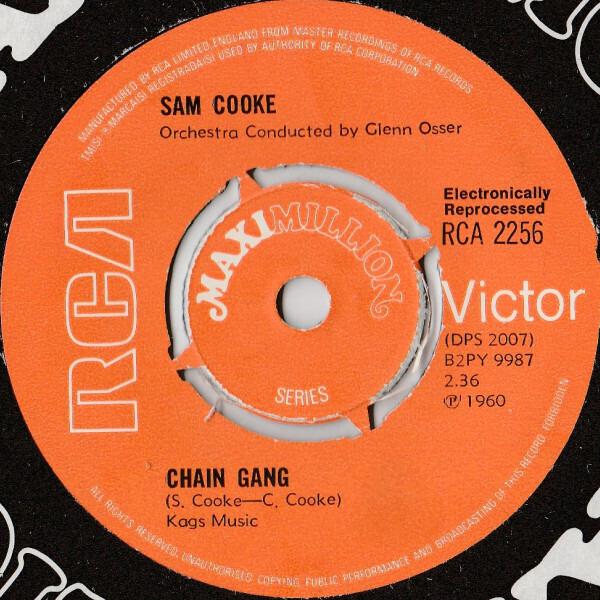Sam Cooke - Chain Gang (4-spoke Knockout Centre)