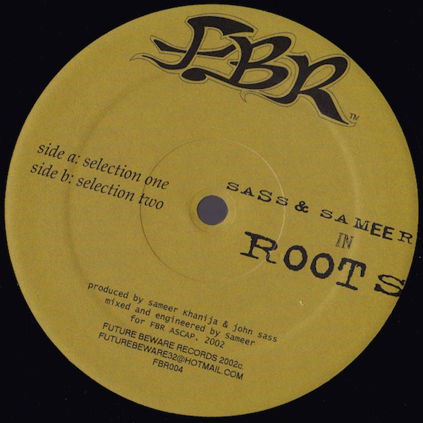 SAMEER & SASS - In Roots - 12 inch x 1