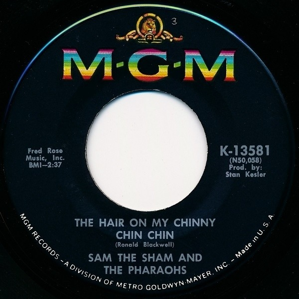#<Artist:0x00007fd9012b19c0> - The Hair On My Chinny Chin Chin