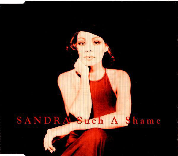 SANDRA - Such A Shame - CD single