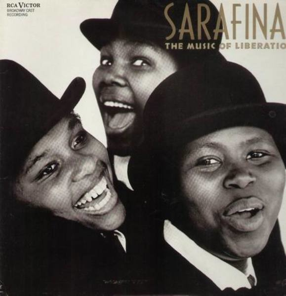Mbongeni Ngema & Lincoln Center Theater Cast Sarafina - The Music of Liberation