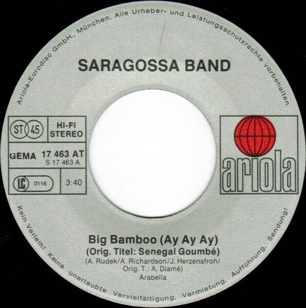 saragossa band big bamboo (ay ay ay)