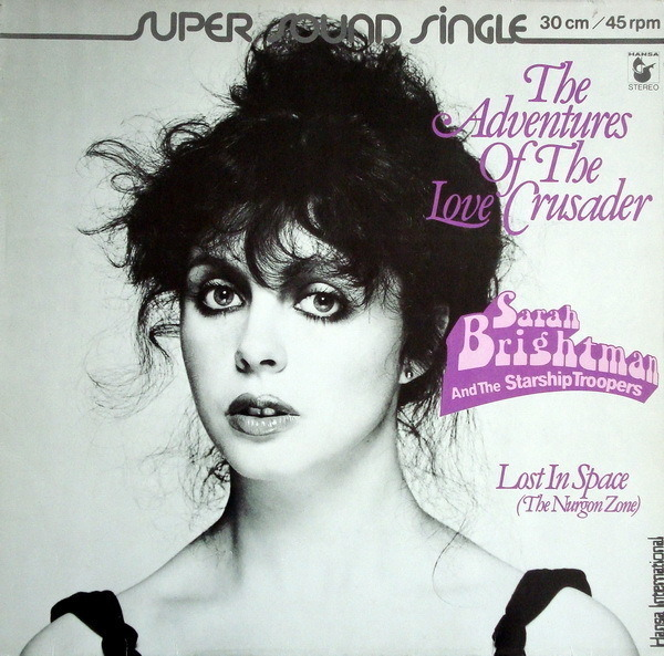 SARAH BRIGHTMAN AND THE STARSHIP TROOPERS - The Adventures Of The Love Crusader - Maxi x 1