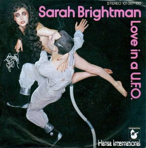 SARAH BRIGHTMAN - Love In A U.F.O. - 45T x 1
