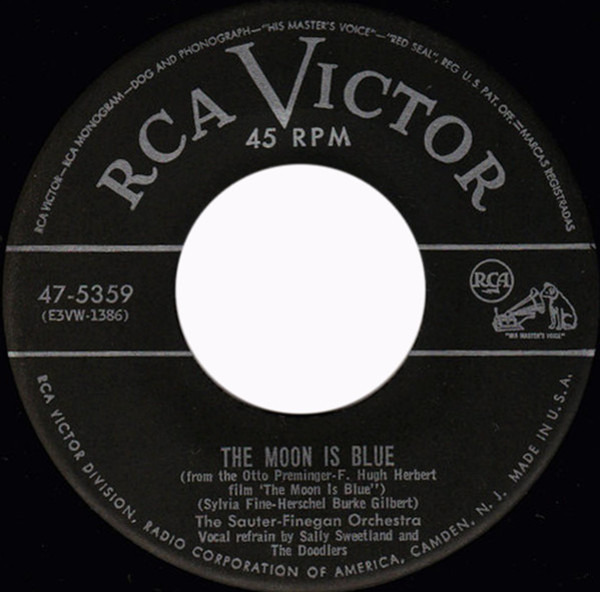 the moon is blue - 599×591