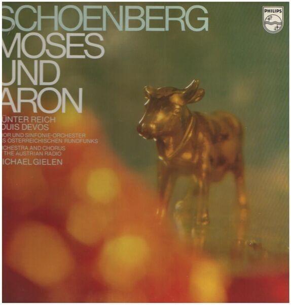 #<Artist:0x007faf1c761470> - Moses und Aron, Günter Reich, Louis Devos, Michael Gielen