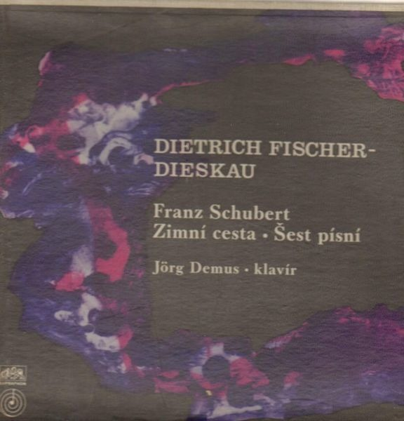 Schubert - Fischer-Dieskau / Demus Zimní cesta / Šest písní (MONO / HARDCOVERBOX + BOOKLET)