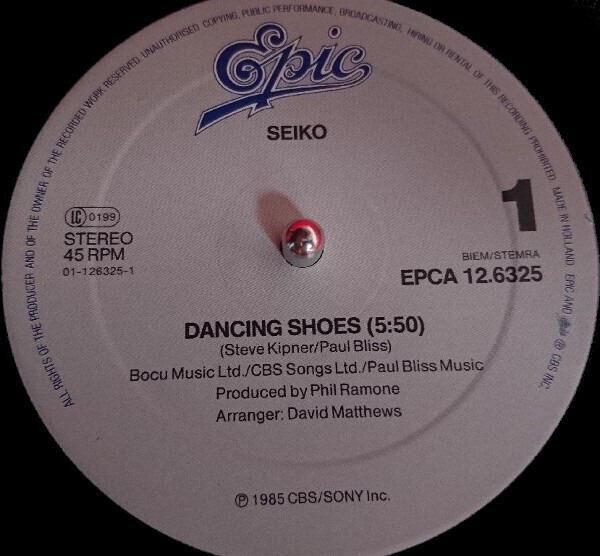 Seiko Matsuda Dancing Shoes