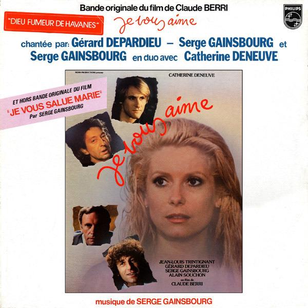 #<Artist:0x00007fd8e1eaece8> - Bande Originale Du Film De Claude Berri 'Je Vous Aime'