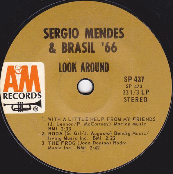Sérgio Mendes & Brasil '66 Look Around (ORIGINAL PICTURE COVER MISSING)