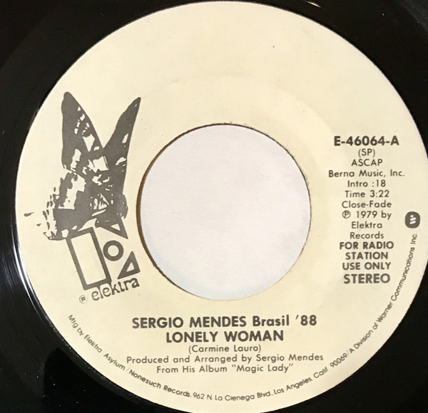 Sergio Mendes & Brasil '88 Lonely Woman