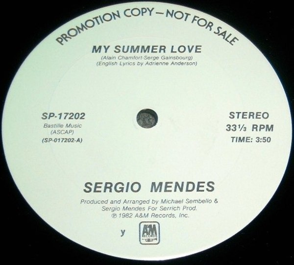 Sergio Mendes, Sérgio Mendes My Summer Love