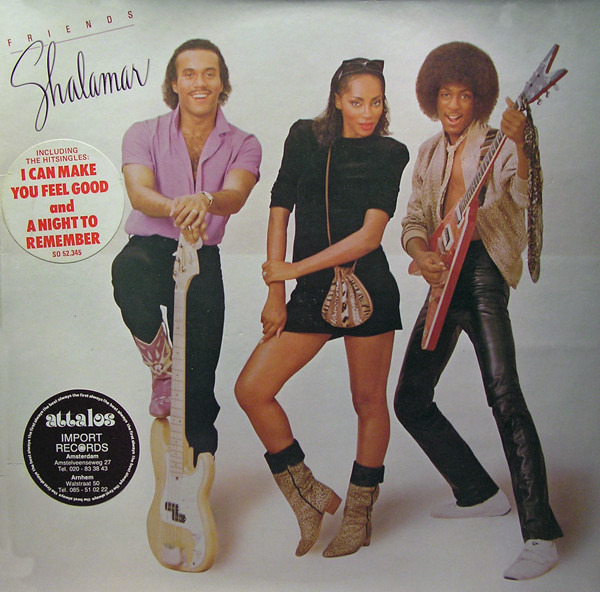 shalamar friends (gatefold sleeve)