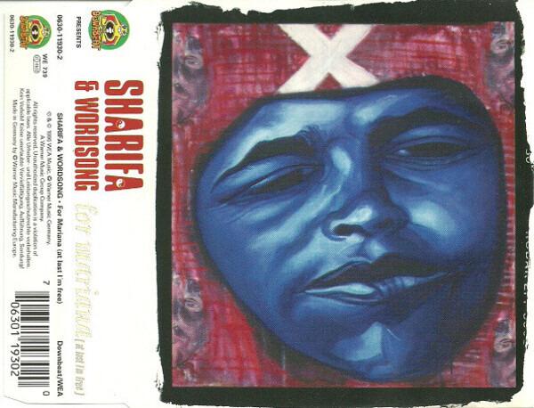 SHARIFA - For Mariana (At Last I'm Free) - CD single