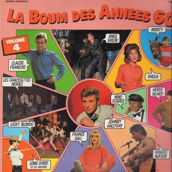 SHEILA, NINO FERRER, A.O. - La Boum Des Années 60 Volume 4 - 33T