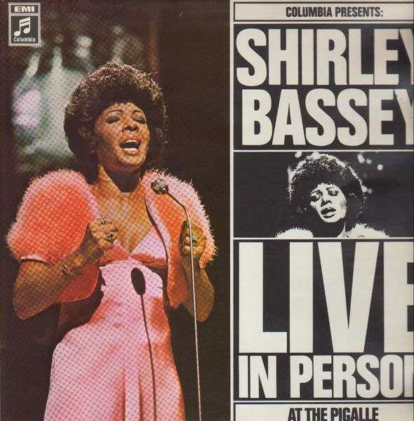 06c8ca2764a Shirley Bassey Live In Person At The Pigalle