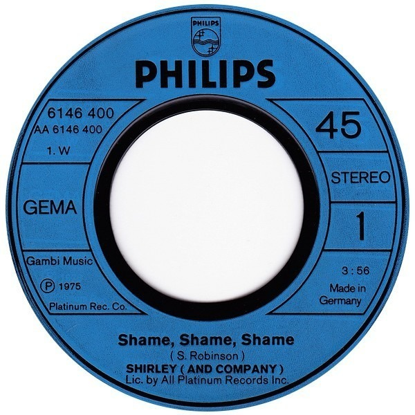 #<Artist:0x00007f651e9402e8> - Shame, Shame, Shame