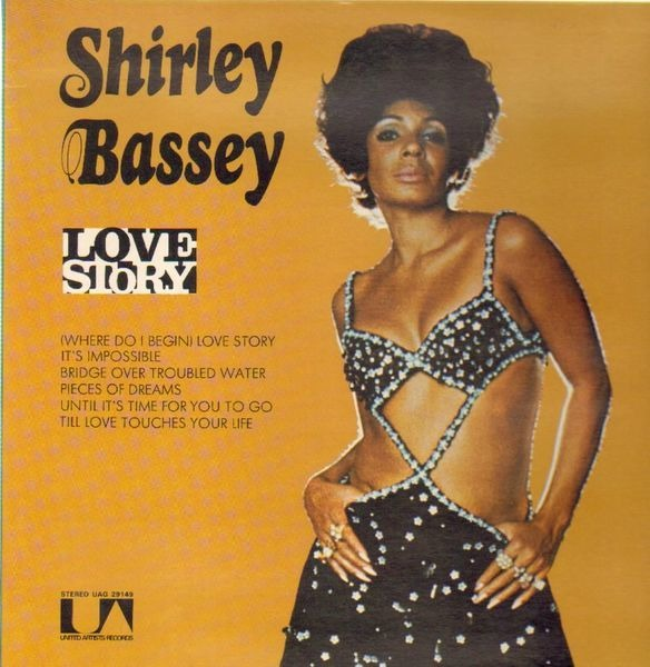 SHIRLEY BASSEY - Love Story - LP