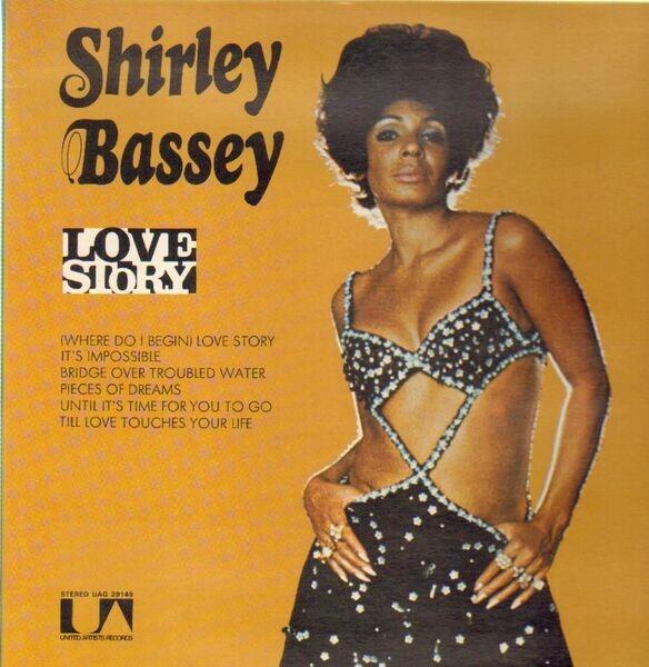 SHIRLEY BASSEY - Love Story - 33T
