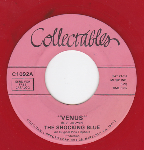 Shocking Blue Venus / Hot Sand (RED VINYL)