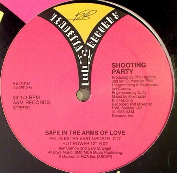 #<Artist:0x00007fce7f66f058> - Safe In The Arms Of Love