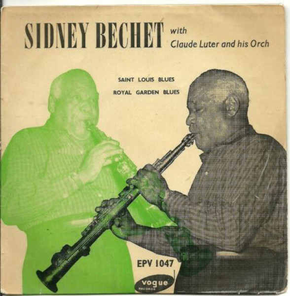 SIDNEY BECHET WITH CLAUDE LUTER ET SON ORCHESTRE - Jazz Classics N° 2 - 45T x 1
