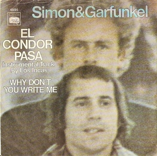 #<Artist:0x00007f811c54fb38> - El Condor Pasa / Why Don't You Write Me