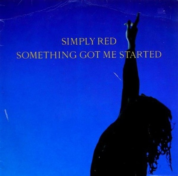 SIMPLY RED - Something got me started (Vinyl Single) - 12 inch x 1