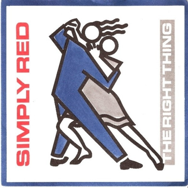 Simply Red - The Right Thing Record