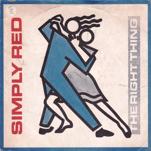 Simply Red - The Right Thing (paper Labels)