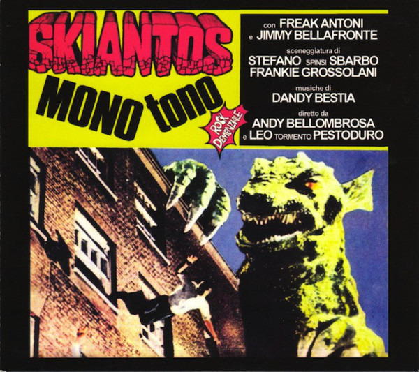Skiantos Mono Tono (DIGIPAK)