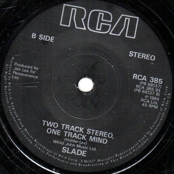 Slade Run Runaway (SOLID CENTRE)