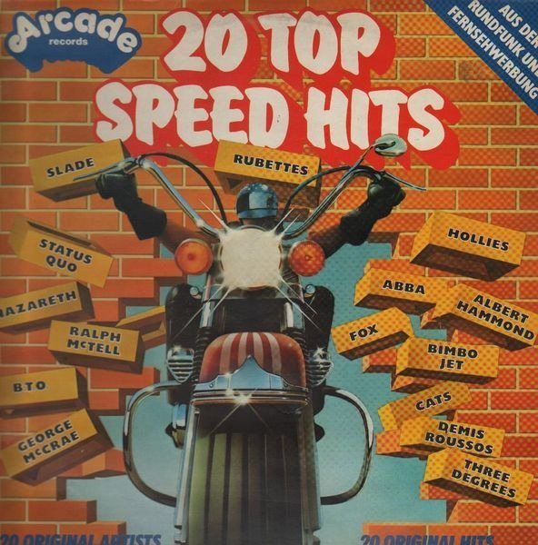 #<Artist:0x007f738f744398> - 20 Top Speed Hits